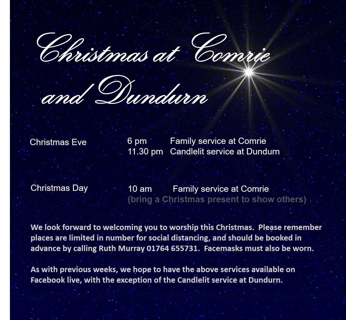 Christmas at Comrie and Dundurn